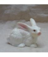 Vintage Miniature BONE CHINA White Rabbit Figurine Made in Japan - $8.00