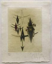 "Wilfredo Lam ""Croiseur Noir II"" 1972 - Signed Etching - Framed - COA - G... - $3,500.00"