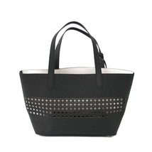 Ralph Lauren Leighton One Size Black/White Shopper - $83.92