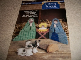 Plastic Canvas Christmas Nativity Pattern - $5.00