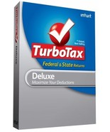 2009 Turbotax Federal Deluxe w/  state Turbo tax New FAST SHIPPING SEALE... - $17.39