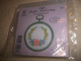 Silk Ribbon Embroidery Beginner's Kit - $7.00