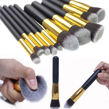 Professional Cosmetic Makeup Tool Brush Set 10 pc - $18.69