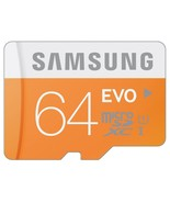 Samsung 64GB EVO Class 10 Micro SDXC up to 48MB/s with Adapter (MB-MP64D... - $29.80
