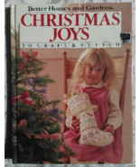 Better Homes and Gardens Christmas Joys to Craft and Stitch - $5.00