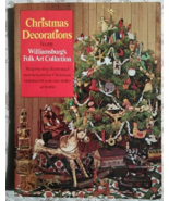 Christmas Decorations from Williamsburg's Folk Art Collection - $5.00
