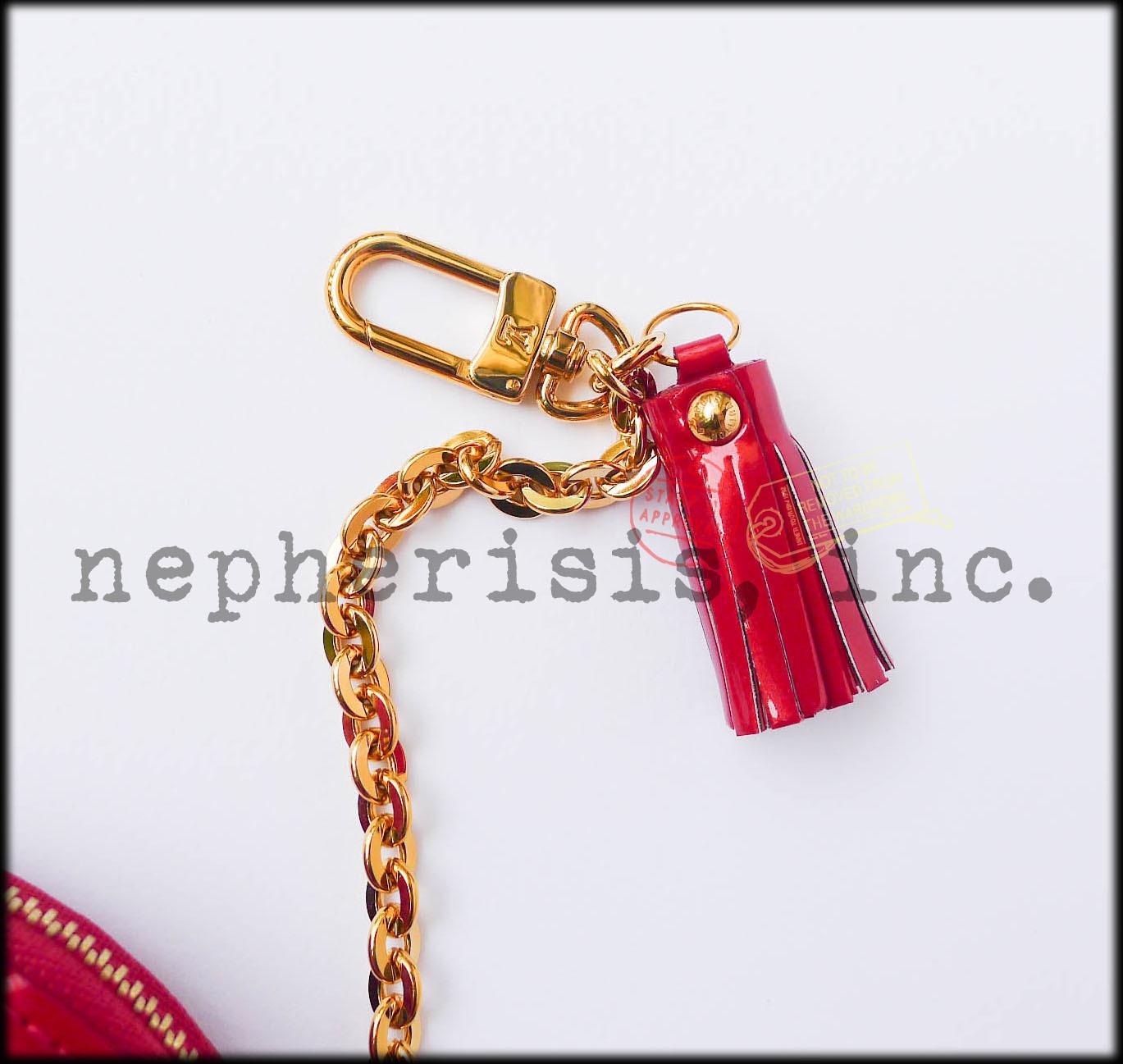 AUTH NIB Louis Vuitton ANIMANIA RABBIT Monogram Vernis Coin Purse or Bag Charm