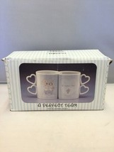 Vintage Precious Moments A Perfect Team Coffee Cups by Artist Samuel J. ... - $14.65