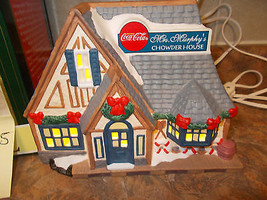 Coca-Cola Town Square Mrs Murphy's Chowder House, Village 1997 - $29.99