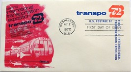 May 2, 1972 First Day of Issue, Fleetwood Cover,Transportation Expositio... - $3.24