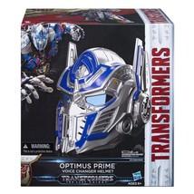 Transformers optimus prime helmet premier edition voice changer  - $104.10