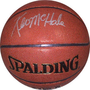 Kevin McHale signed Spalding NBA Indoor/Outdoor Basketball- JSA Witnessed Hologr