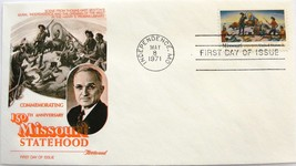 May 8, 1971 First Day of Issue, Fleetwood Cover, Missouri Statehood #10 - $3.99