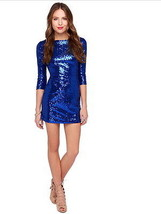 Summer Style Women's Dress Slim Mini Sparkling Sequin Sexy Night Out Club ITC74. - $54.45