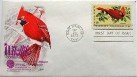 September 20, 1972 First Day of Issue Fleetwood Cover, Wildlife Conserva... - $2.23
