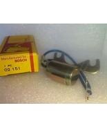 Bosch 02151 Condenser JA509 172-2107 E235Z 22102-U6002 22102-U6001 NOS - $6.85