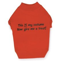 Zack & Zoey Polyester/Cotton This is My Costume Dog Tee, Medium - €21,75 EUR