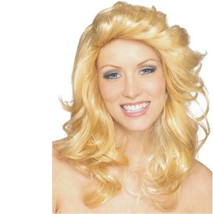 Wig - Adult - 70's Angel Ladies Blonde Feathered Farrah Fawcet Charlie's... - $9.81