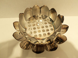 Vintage Leonard Silverplate Lotus Tulip Petal 3pc Centerpiece Bowl Set I... - $39.15
