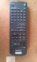 9T83 SONY RMT-C50 REMOTE CONTROL, VERY GOOD CONDITION - $15.66
