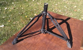"""9S88 TRIPOD 08C18AX FROM DRUM SET (BASE ONLY): 1"""" ID TUBE, 21"""" DIAMETER ... - $19.55"""