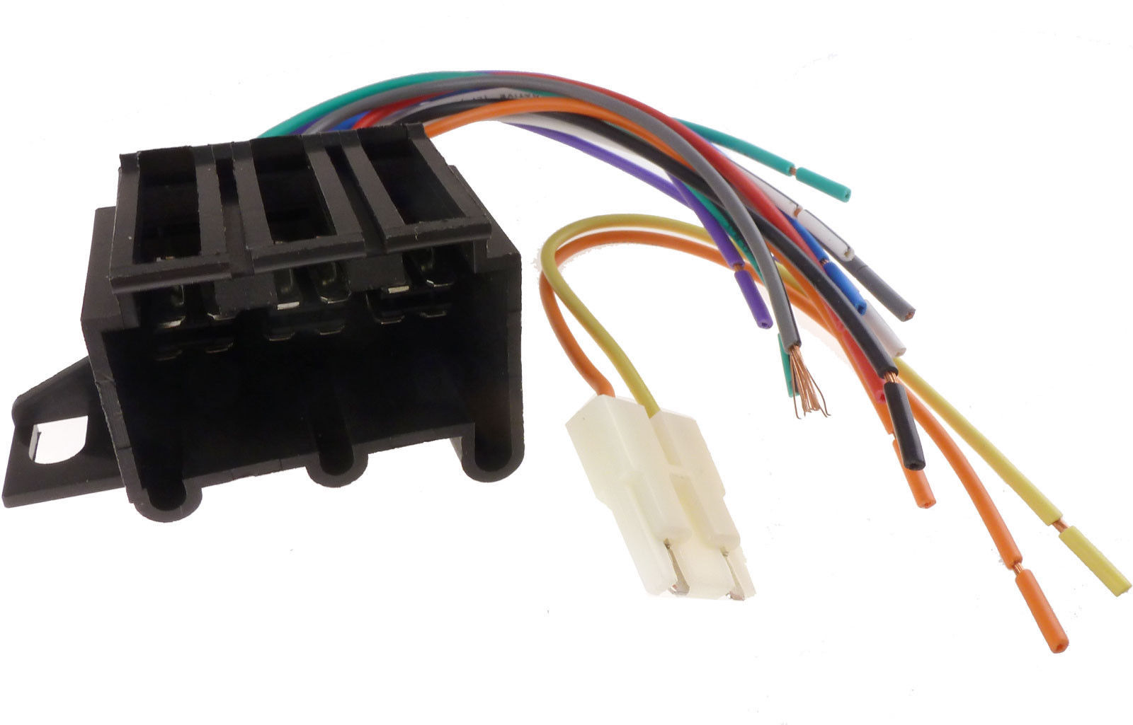 57. 57. EARLY GM CAR STEREO CD PLAYER WIRING HARNESS WIRE AFTERMARKET ...