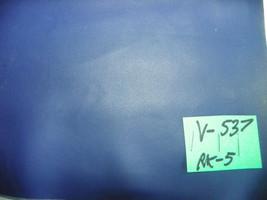 Navy Blue Vinyl Upholstery Fabric 1 Yard  V537 - $29.95