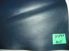 Dark Midnight Blue Vinyl Upholstery Fabric 1 Yard  V547 - $29.95