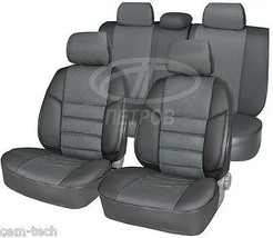Ford Transit (1+2) 1991 2000 Seat Covers Jacquard And Leatherette - $102.50