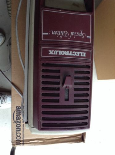 Vintage Electrolux Golden Jubilee Vacuum Cleaner + Attachments Works Great L@@K!