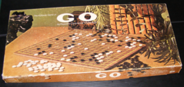 1974 The Authentic Game of GO Milton Bradley ES Lowe - $40.00