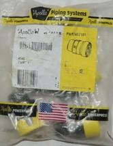 Apollo Powerpress PWR7482101 1 Inch MIP Male Thread Adapter Gas 404G-10 image 1