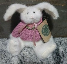 VTG Boyds Bears Archive Collection Jointed Plush Bunny Rabbit Tag Bow #1364 1990 - $11.83