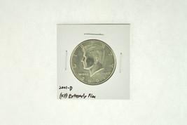 2001-D Kennedy Half Dollar (XF) Extremely Fine N2-4018-3 - $2.99