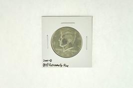 2001-D Kennedy Half Dollar (XF) Extremely Fine N2-4018-4 - $2.99
