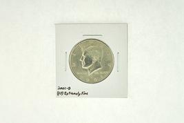 2001-D Kennedy Half Dollar (XF) Extremely Fine N2-4018-6 - $2.99