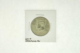 2001-D Kennedy Half Dollar (XF) Extremely Fine N2-4018-7 - $2.99