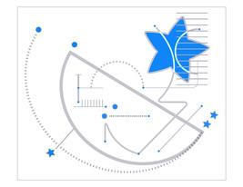 *Astronomy_Blue* Digital Illustration JPEG Image Download - $4.20
