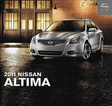 2011 Nissan ALTIMA sales brochure catalog US 11 Sedan Coupe S SL SR - $7.00