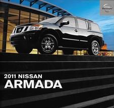 2011 Nissan ARMADA sales brochure catalog US 11 SV SL Platinum - $9.00
