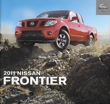 2011 Nissan FRONTIER sales brochure catalog US 11 SV SL PRO-4X  - $6.00