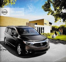 2011 Nissan QUEST sales brochure catalog US 11 SV SL LE - $6.00