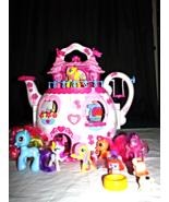 My Little Pony Teapot Palace--Hasbro 2006 - $45.50