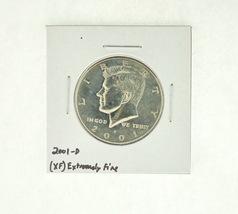 2001-D Kennedy Half Dollar (XF) Extremely Fine N2-4018-9 - $2.99