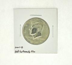 2001-D Kennedy Half Dollar (XF) Extremely Fine N2-4018-10 - $2.99