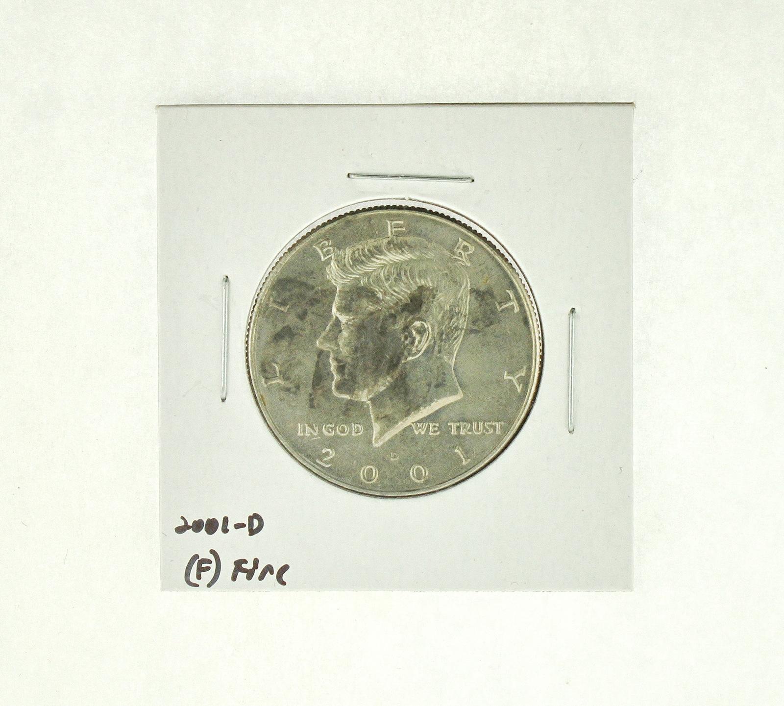 2001-D Kennedy Half Dollar (F) Fine N2-4032-3