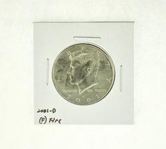 2001-D Kennedy Half Dollar (F) Fine N2-4032-3 - $1.99