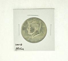 2001-D Kennedy Half Dollar (F) Fine N2-4032-5 - $1.99