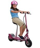Seated Electric Scooter Pink Girls Power play t... - $341.65