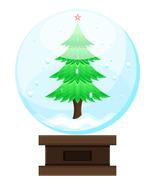 3 Christmas Tree Glass Ball-Digital clipart - $4.00